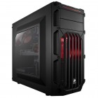 Gabinete Gamer Corsair Carbide Series SPEC-03 Mid Tower CC-9011052-WW Preto e Vermelho