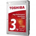 HD Interno Para Desktop Toshiba P300, HDWD130XZSTA, 3 TB, SATA III 6Gb/s, 7200 RPM