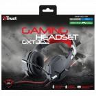 Headset Gamer Trust Dynamic GXT 322 Preto/Vermelho