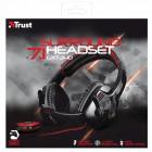 Headset Gamer Trust GXT 340 Preto/Vermelho - Surround 7.1