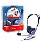 Headset Genius HS-04S Lilás - Ajustável