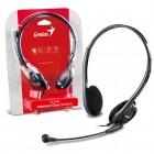 Headset Genius HS-200C Preto - Ajustável