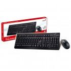 Kit Teclado e Mouse USB Genius KM-125 - Preto