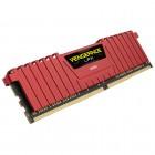 Memória Gamer DDR4 Corsair Vengeance Vermelha 16B KIT (2X8GB) 2400MHZ DIMM CL14, CMK16GX4M2A2400C14R