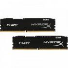 Memória Gamer HyperX Fury DDR4 Preto, 16GB Kit 2x8GB, 2133MHZ, CL14, DIMM, HX421C14FB2K2-16
