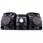 Mini System LG CM4650 Preto - 560W RMS, Multi Bluetooth, Dual USB, MP3, CD e Rádio