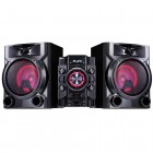 Mini System LG CM5660 Preto, 620W RMS, USB, Multi Bluetooth, Multi Playlist, Sound Sync Wireless