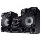 Mini System Samsung MX-J840/ZD Preto - CD, 2 USB,MP3 - 800W