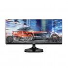 Monitor IPS 25'' Ultrawide LG 25UM58-P Preto - Full HD, HDMI - Modo de Jogo