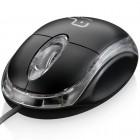 Mouse Óptico Multilaser MO179 Classic USB 800 DPI - Preto, Com Fio