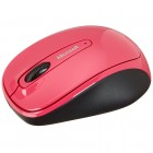 Mouse Wireless Microsoft 3500 - Rosa, Sem Fio