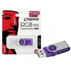 Pen Drive Kingston 32GB Datatraveler 101 G2 USB 2.0 Roxo