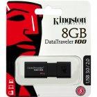 Pen Drive Kingston 8GB Datatraveler 100 Generation 3 DT100G3-8GB USB3.0 - Preto
