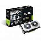 Placa De Vídeo Asus Geforce DUAL-GTX1050-O2G GTX 1050 OC, 2GB, DDR5, 128 Bits