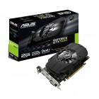 Placa De Vídeo Asus Geforce PH-GTX1050-2G GTX 1050, 2GB, DDR5, 128 Bits