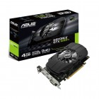 Placa De Vídeo Asus Geforce PH-GTX1050TI-4G GTX 1050 Ti, 4GB, DDR5, 128 Bits