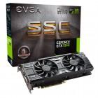 Placa de Vídeo EVGA Geforce Entusiasta Nvidia 03G-P4-6167-KR GTX 1060 SSC, 3GB, DDR5, 192 Bits