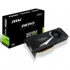 Placa de Vídeo Geforce MSI Entusiasta Nvidia GTX 1080 Aero 8G OC, 8GB, DDR5X, 256Bits