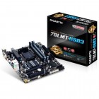 Placa Mãe Gigabyte GA-78LMT-USB 3 Micro-ATX, AMD Am3+, Phenon II, Athlon II, DDR3 32GB , PCIe 2.0