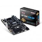 Placa Mãe Gigabyte GA-970A-DS3P ATX, AMD Am3+, Phenon II,Athlon II,  DDR3 32GB, PCIe 2.0