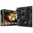 Placa Mãe Gigabyte GA-H270M-D3H - LGA 1151, Micro-ATX, DDR4, 2400MHZ, M.2, HDMI, USB 3.1