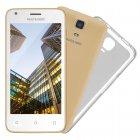 Smartphone Multilaser MS45S Dourado, Dual Chip, Tela 4.5
