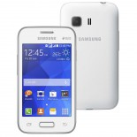Smartphone Samsung Galaxy Young 2 Duos TV Branco SM-G130, Android 4.4, 3G Wi Fi, Câm 3.0 MP, Mem 4GB