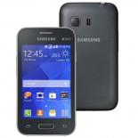 Smartphone Samsung Galaxy Young 2 Duos TV Cinza SM-G130 - Android 4.4, 3G, Wi-Fi, Câm 3.0MP, Mem 4GB