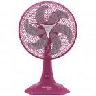 Ventilador de Mesa 30cm Britânia Protect 30 Six, 3 Níveis de Velocidade, 6 Pás, 55W, 110V - Rosa