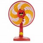 Ventilador de Mesa 30cm Mallory Mickey TS, 3 Níveis de Velocidade, 6 Pás, 42W, 110V - Vermelho