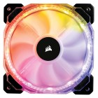 Ventoinha Corsair HD120 RGB, 120mm, 1725 RPM, Led Multicolor, com Controlador  - CO-9050066-WW