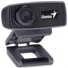 Webcam Genius 32200223101 FaceCam 1000X, 720p HD Preto - USB, Com Microfone