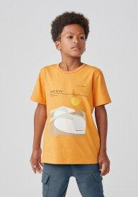 Imagem - Camiseta Hering 5CFYLM7EN Laranja