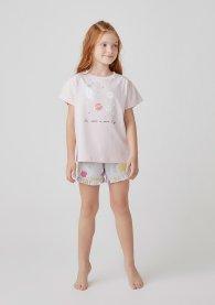 Imagem - Pijama Infantil Hering 569E1AEN Rosa