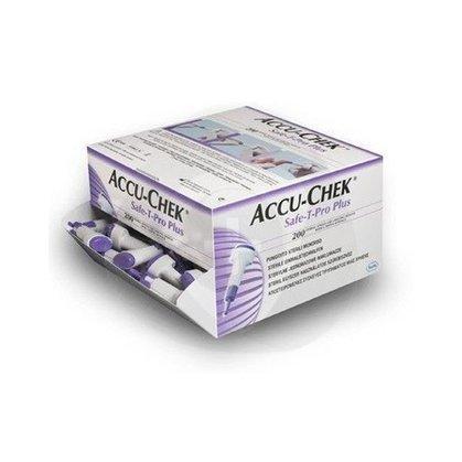 Accu Chek Safe-T-Pro Plus cx c/200un