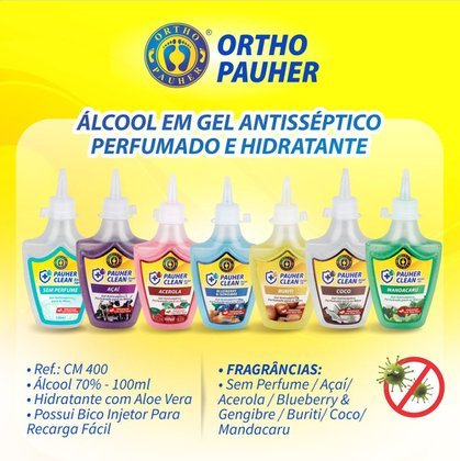 Álcool Gel 70% Perfumado - Ortho Pauher