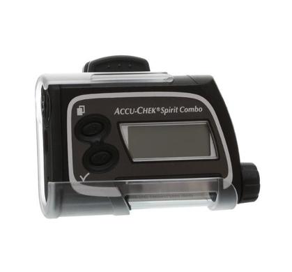 Capa plástica c/ clip p/ bomba de insulina Accu-Chek (Clip Case)