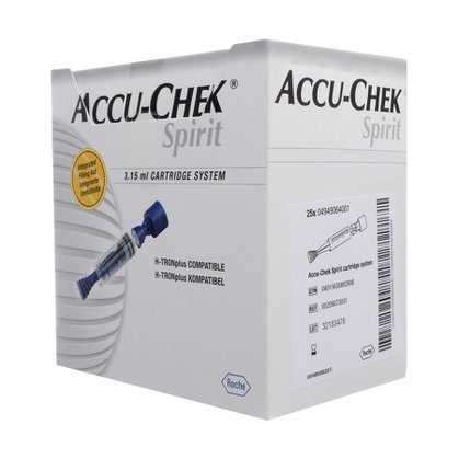 Cartucho Accu Chek Spirit 3.15ml c/5