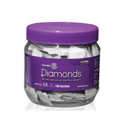 Diamonds Sachê Gelificante para bolsas de colostomia - Unidade