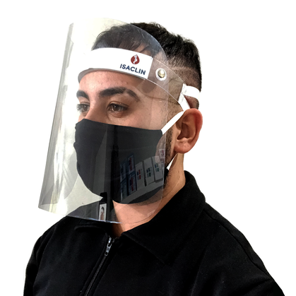 Face Shield Isaclin by Ortho Pauher - Escudo Facial