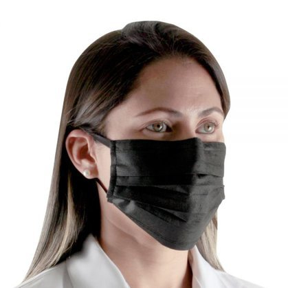 Máscara Cirúrgica Tripla Descartável - Ortho Pauher