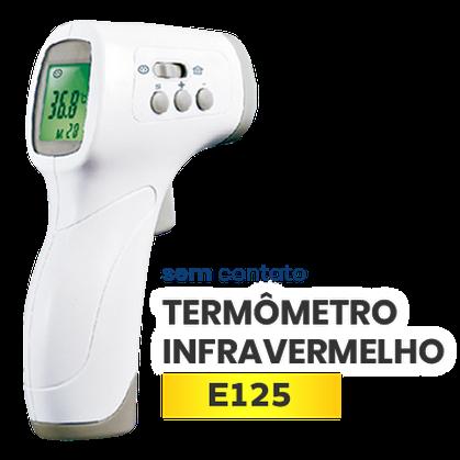 Termômetro de infravermelho sem contato E125