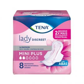Imagem - Absorvente Tena Lady Discreet Mini Plus