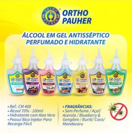 Imagem - Álcool Gel 70% Perfumado - Ortho Pauher