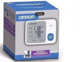Imagem - Aparelho de pressão de pulso Omron HEM-6124