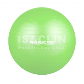 Imagem - Bola de Ginástica e Pilates Antiestouro (55 cm) - ProAction