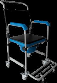 Imagem - Cadeira de banho D50 Dellamed - para até 150Kg