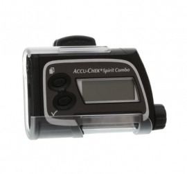 Imagem - Capa plástica c/ clip p/ bomba de insulina Accu-Chek (Clip Case)