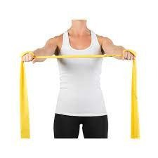 Imagem - Faixa Elástica para Exercício Mercur - Amarela 1,5M