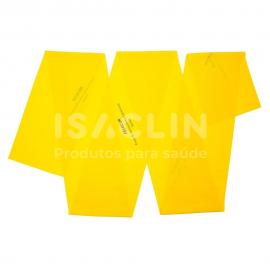 Imagem - Faixa Elástica para Exercícios (Amarelo/Suave) - Mercur